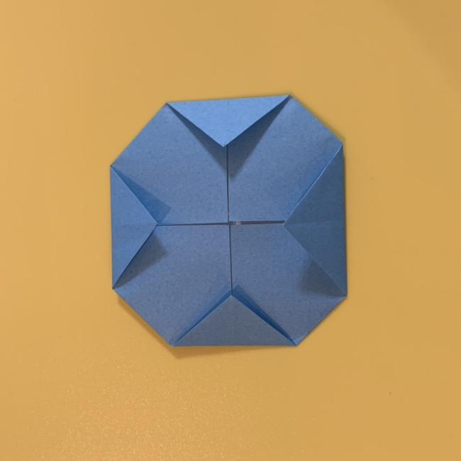すみっこぐらし にせつむりの折り紙★折り方・作り方 (16)