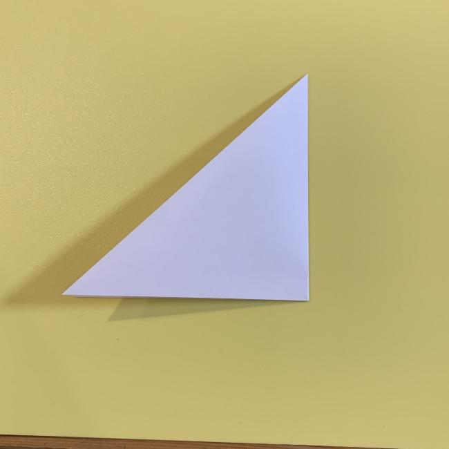 すみっこぐらし にせつむりの折り紙★折り方・作り方 (2)