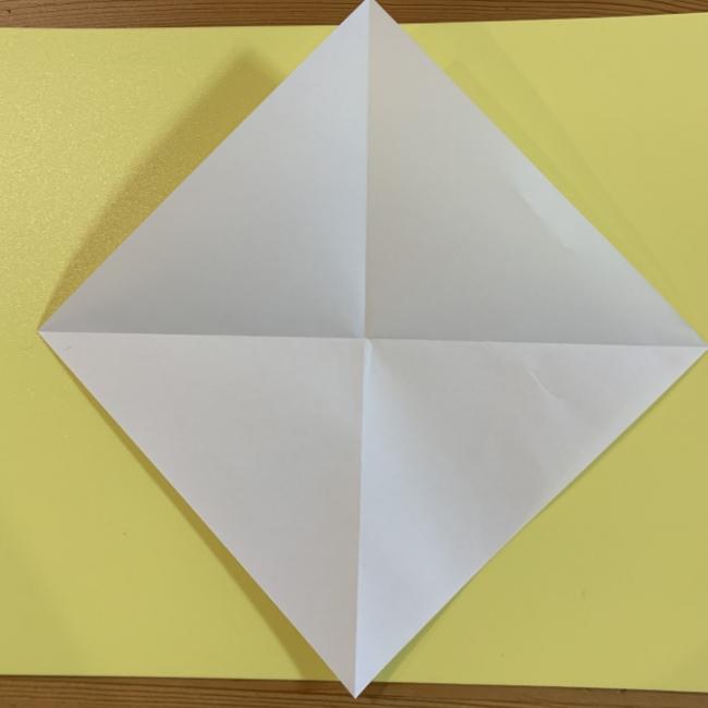 すみっこぐらし にせつむりの折り紙★折り方・作り方 (3)