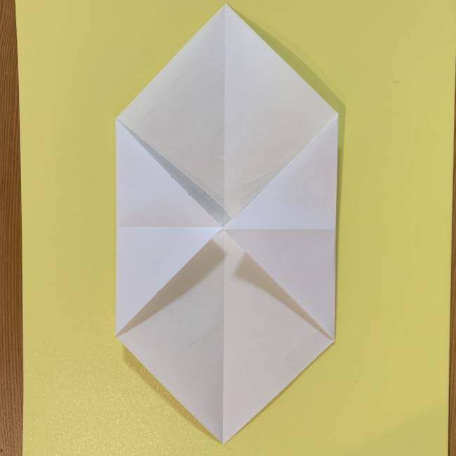 すみっこぐらし にせつむりの折り紙★折り方・作り方 (4)