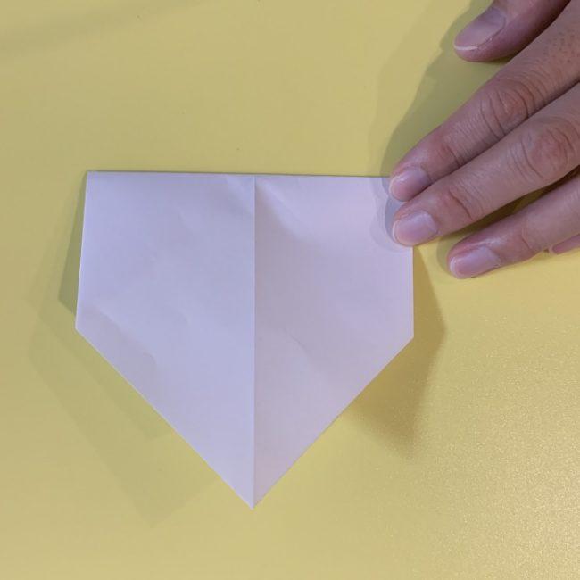 すみっこぐらし にせつむりの折り紙★折り方・作り方 (5)