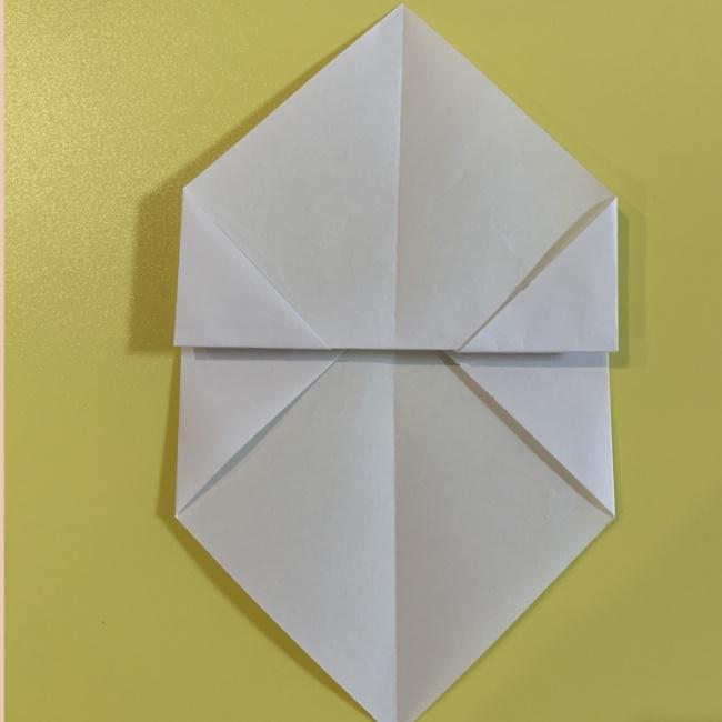 すみっこぐらし にせつむりの折り紙★折り方・作り方 (6)