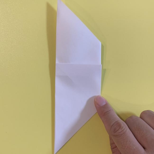 すみっこぐらし にせつむりの折り紙★折り方・作り方 (8)