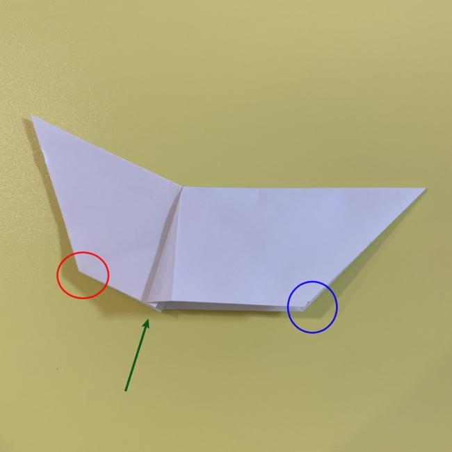 すみっこぐらし にせつむりの折り紙★折り方・作り方 (9)