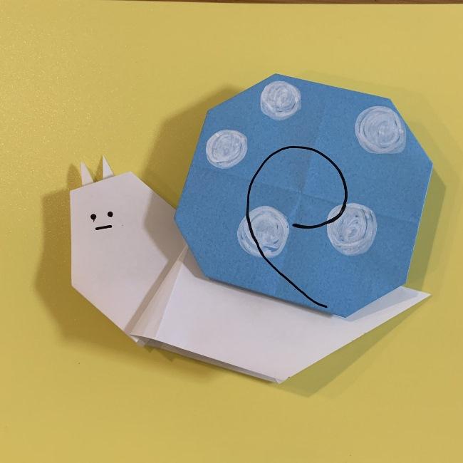 すみっこぐらし にせつむりの折り紙 折り方・作り方☆子供でも簡単かわいいキャラクター