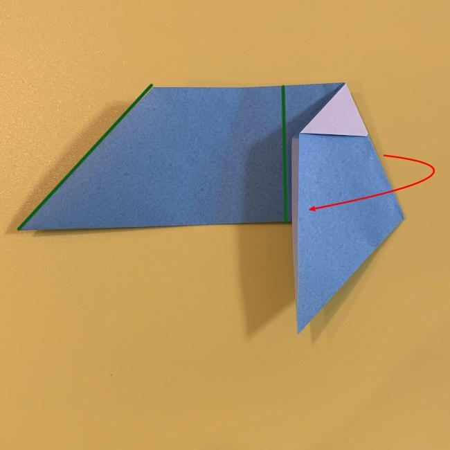 すみっこぐらし やま 折り紙の折り方・作り方 (10)