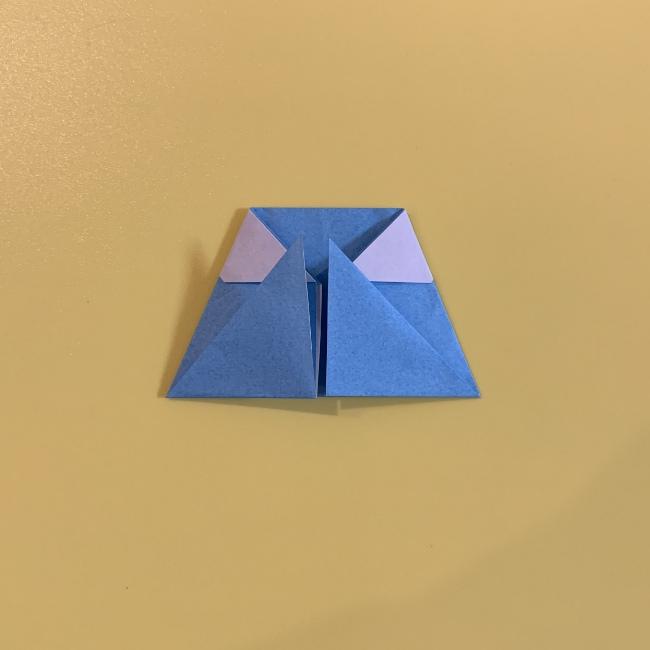 すみっこぐらし やま 折り紙の折り方・作り方 (12)