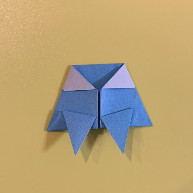 すみっこぐらし やま 折り紙の折り方・作り方 (13)