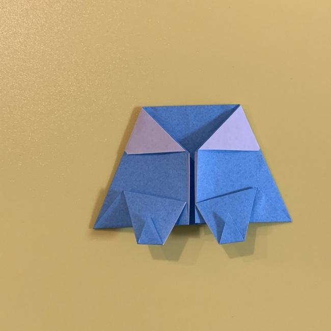すみっこぐらし やま 折り紙の折り方・作り方 (14)