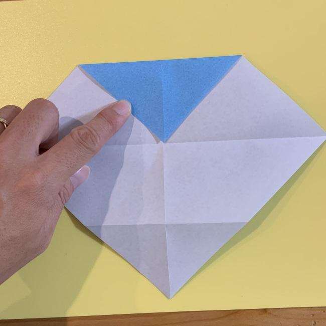すみっこぐらし やま 折り紙の折り方・作り方 (5)