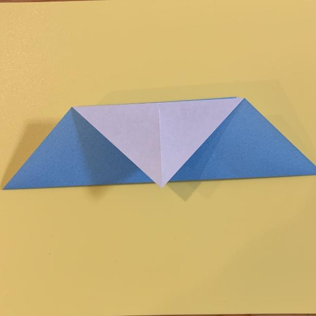 すみっこぐらし やま 折り紙の折り方・作り方 (6)