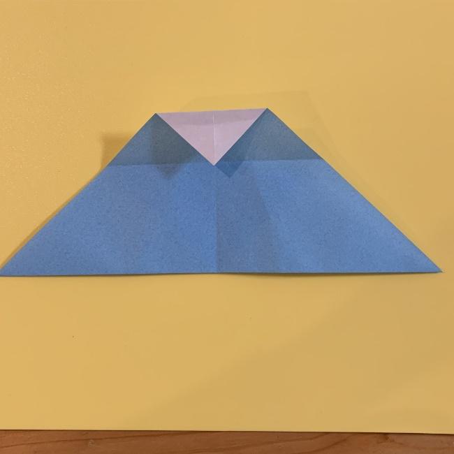 すみっこぐらし やま 折り紙の折り方・作り方 (7)