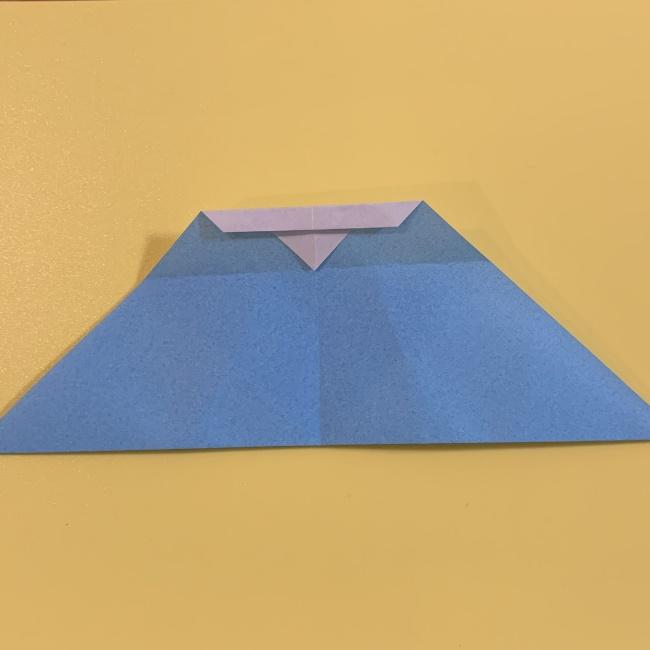 すみっこぐらし やま 折り紙の折り方・作り方 (8)