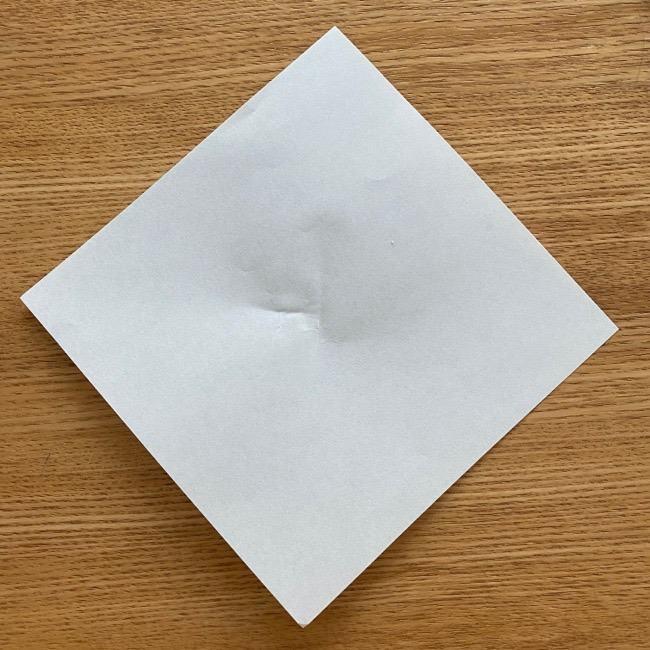 すみっこぐらし 折り紙のほこり《折り方・作り方》 (1)