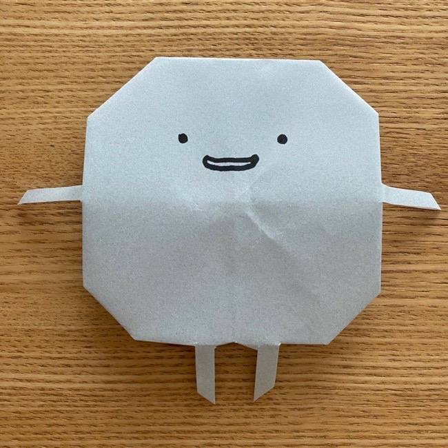 すみっこぐらし 折り紙のほこり《折り方・作り方》 (11)