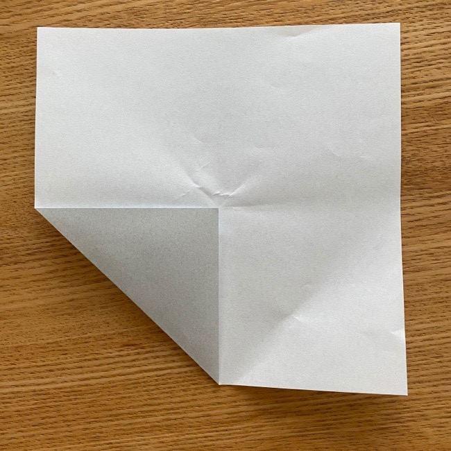 すみっこぐらし 折り紙のほこり《折り方・作り方》 (2)