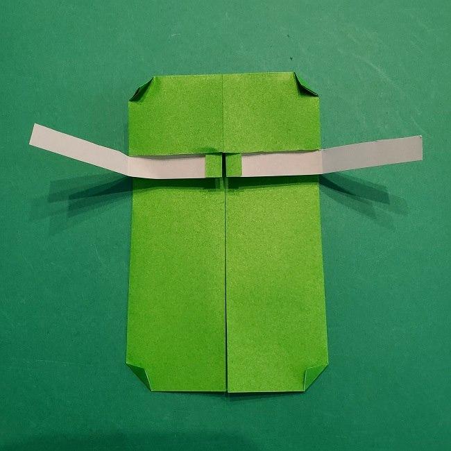 すみっこぐらし 折り紙のスマホ(携帯)*折り方 (10)