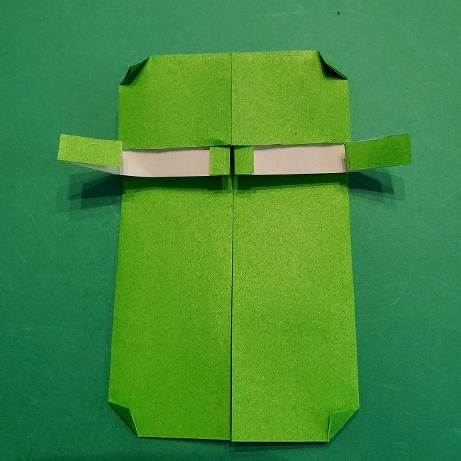すみっこぐらし 折り紙のスマホ(携帯)*折り方 (11)