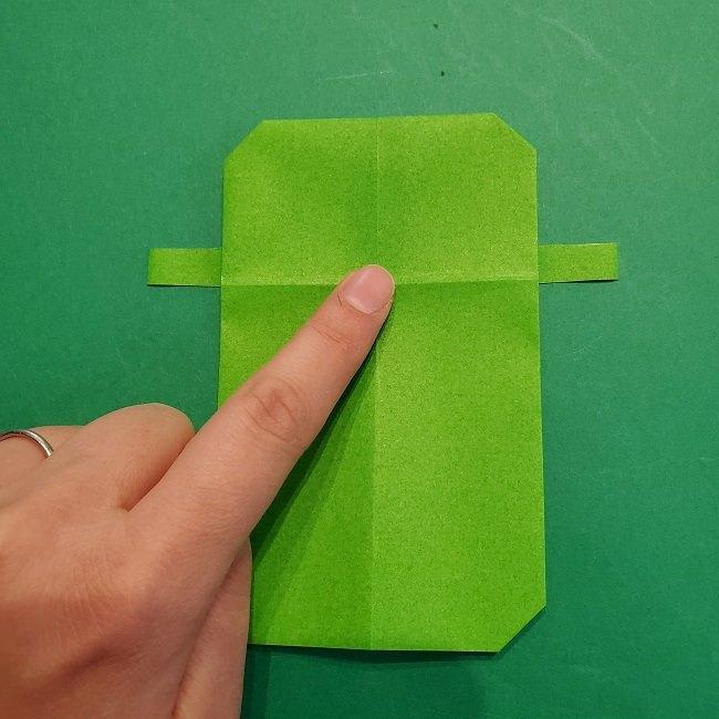 すみっこぐらし 折り紙のスマホ(携帯)*折り方 (12)