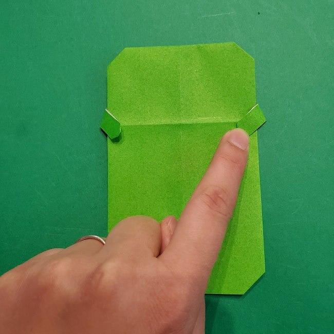 すみっこぐらし 折り紙のスマホ(携帯)*折り方 (14)