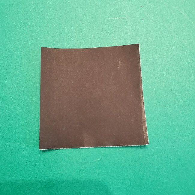 すみっこぐらし 折り紙のスマホ(携帯)*折り方 (17)