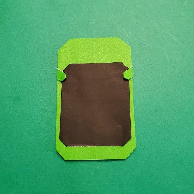 すみっこぐらし 折り紙のスマホ(携帯)*折り方 (21)