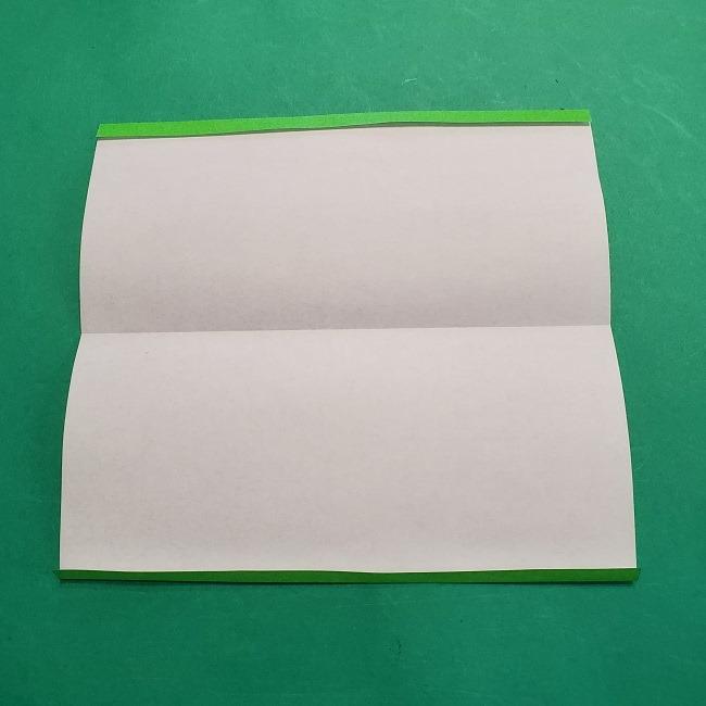 すみっこぐらし 折り紙のスマホ(携帯)*折り方 (3)