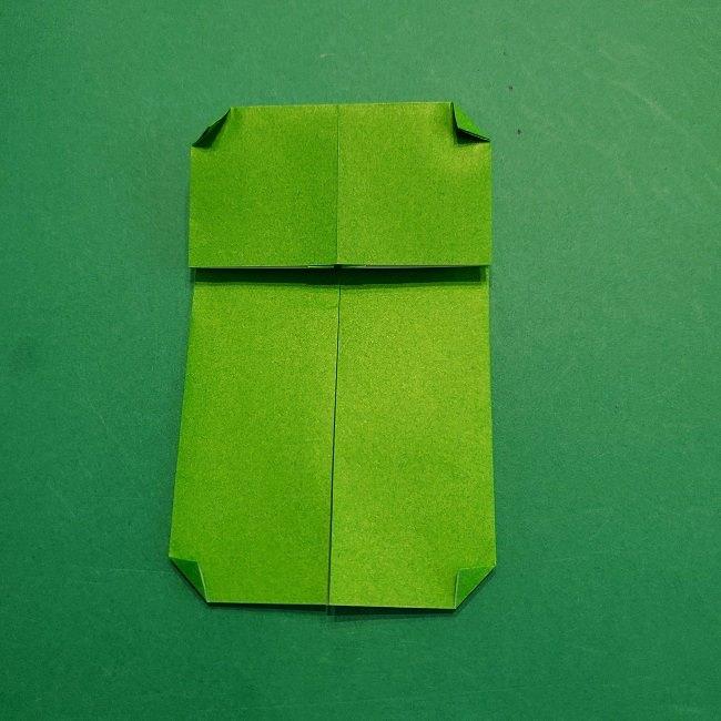 すみっこぐらし 折り紙のスマホ(携帯)*折り方 (8)