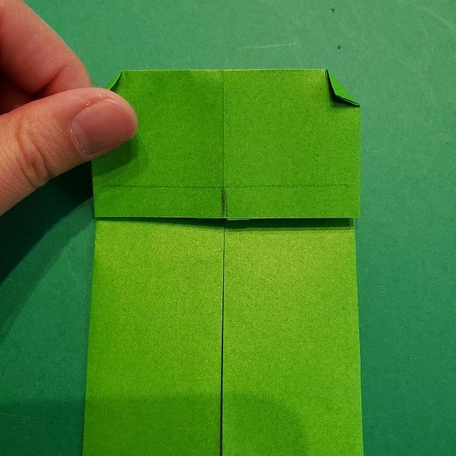すみっこぐらし 折り紙のスマホ(携帯)*折り方 (9)