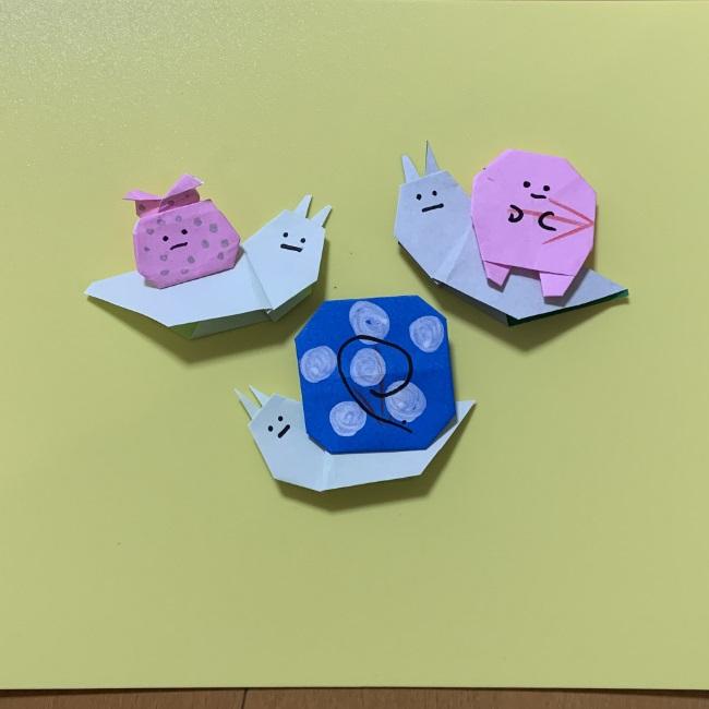 すみっコぐらし『にせつむり』の折り紙は子どもでも簡単かわいい♪