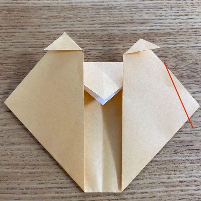 すみっコぐらしの折り紙アイスねこ (10)