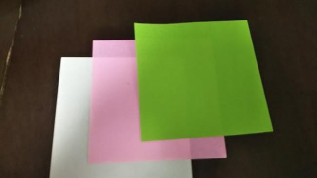 ひな祭りの折り紙【ひなあられ】用意するもの
