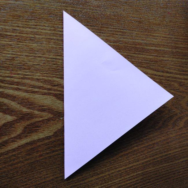 ひな祭りの折り紙 ひなあられの折り方 (1)