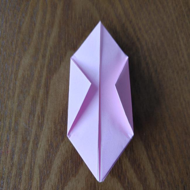 ひな祭りの折り紙 ひなあられの折り方 (11)