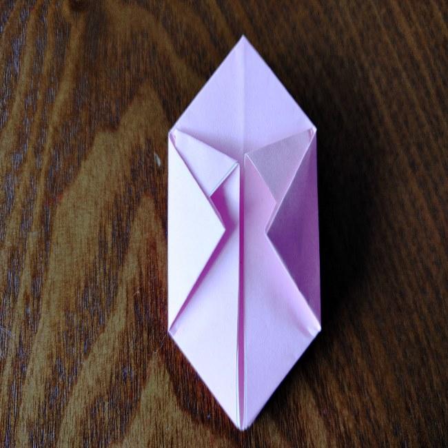 ひな祭りの折り紙 ひなあられの折り方 (12)