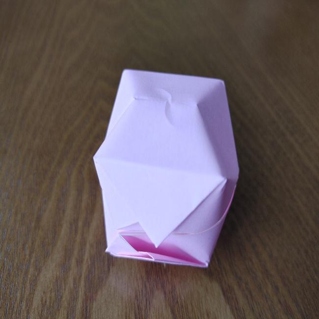 ひな祭りの折り紙 ひなあられの折り方 (14)