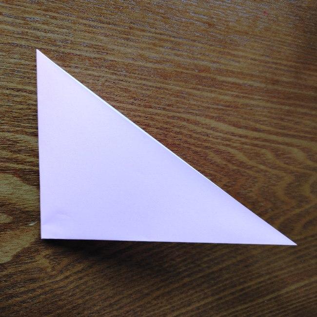 ひな祭りの折り紙 ひなあられの折り方 (2)