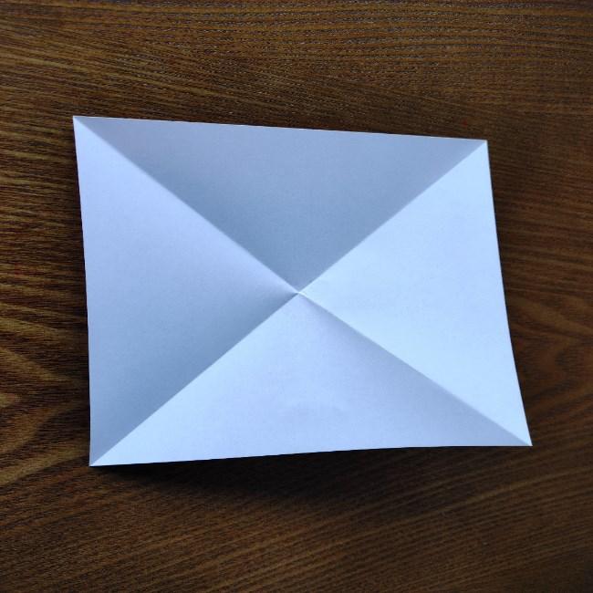 ひな祭りの折り紙 ひなあられの折り方 (3)