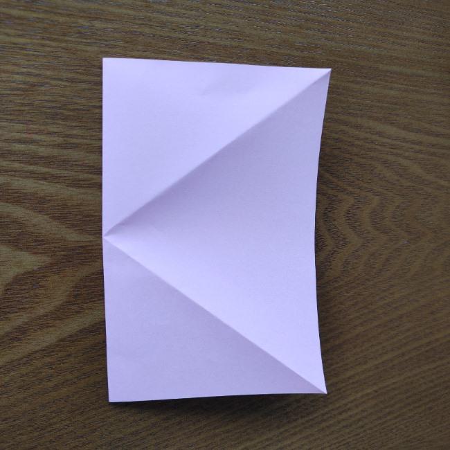 ひな祭りの折り紙 ひなあられの折り方 (4)