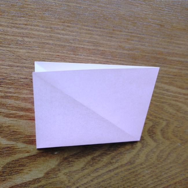 ひな祭りの折り紙 ひなあられの折り方 (5)