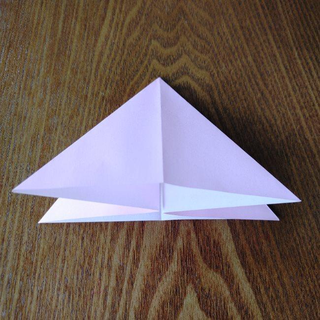 ひな祭りの折り紙 ひなあられの折り方 (7)