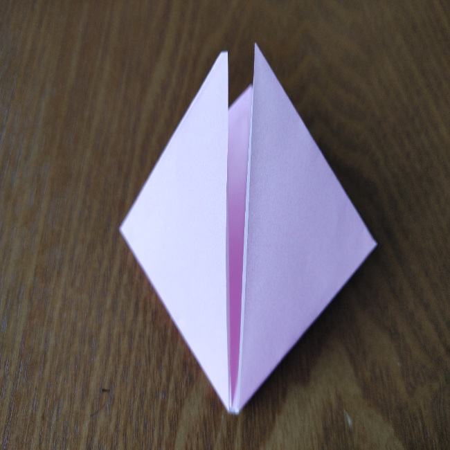 ひな祭りの折り紙 ひなあられの折り方 (9)