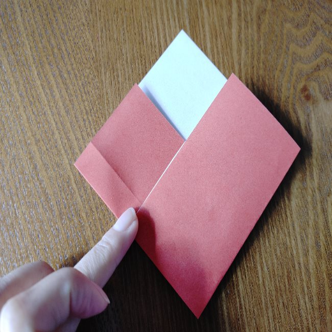 ひな祭り製作は2歳児3歳児からOK!折り紙の簡単な作り方 (3)
