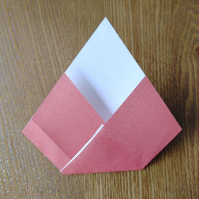 ひな祭り製作は2歳児3歳児からOK!折り紙の簡単な作り方 (4)