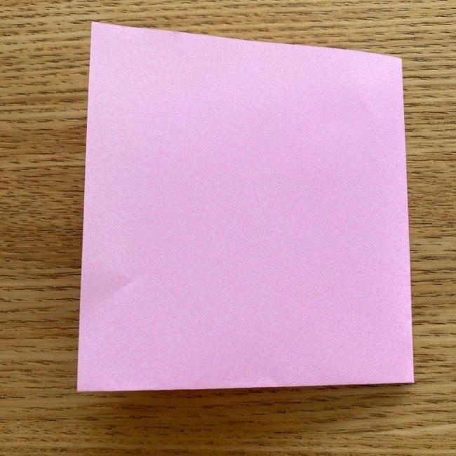 ネコのお雛様の折り紙:服の折り方 (3)