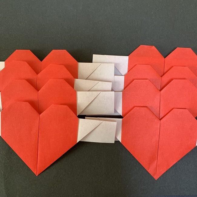 ハート型リースの作り方(折り紙)補足 (2)
