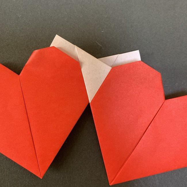 ハート型リースの作り方(折り紙)補足 (3)
