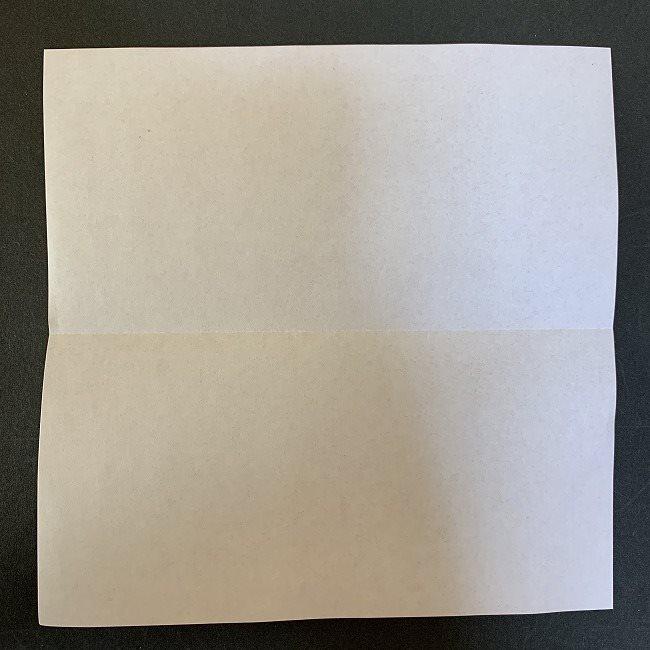 ハート型リースの作り方(折り紙) (1)
