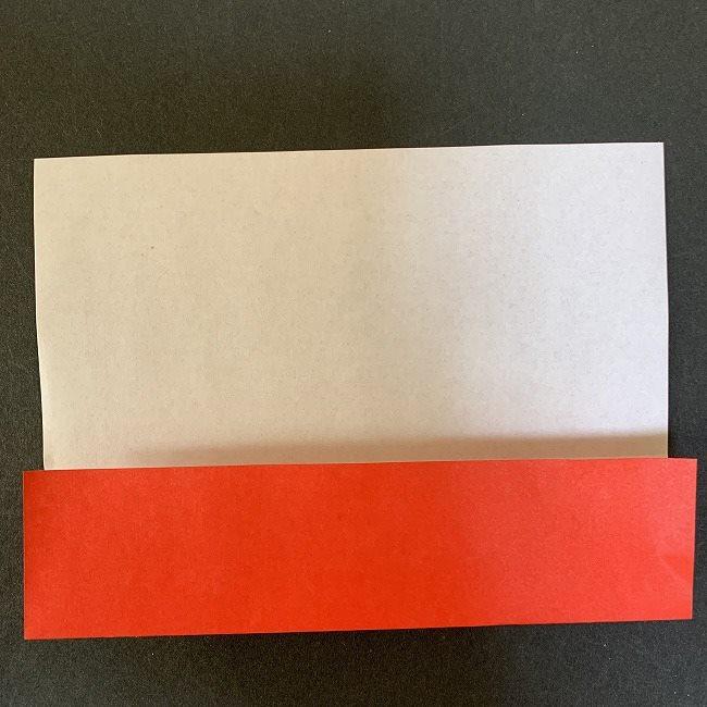 ハート型リースの作り方(折り紙) (2)