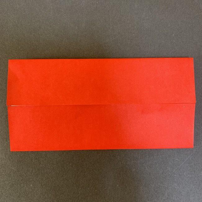 ハート型リースの作り方(折り紙) (3)